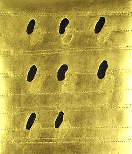 関根伸夫「八つの場所」位相絵画