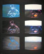 ナム・ジュン・パイク「Untitled1984」版画74×61cm