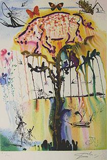 サルバドール・ダリ「豚とこしょう」版画