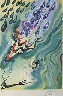 サルバドール・ダリ「涙の海」版画