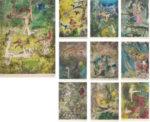 ロベルト・マッタ「結び目の中心」版画集10枚組