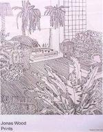 ジョナス・ウッド「Jonas Wood Prints」ポスター73.3×58.3cm