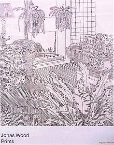 ジョナス・ウッド「Jonas Wood Prints」ポスター