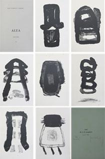 菅井汲「ALEA (偶然69-75)」版画集