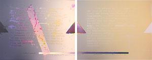 荒川修作「忘壊-2点1組-」版画