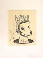 奈良美智「Spockie」銅版画49×37.8cm