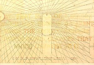 荒川修作「意味されるもの あるいは もしも No.3」銅版画