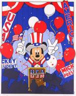 ウォルト・ディズニー「コンベンション」版画55×44cm