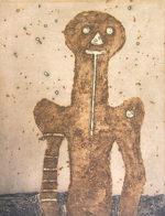 ルフィーノ・タマヨ「トルソ」銅版画76.3×55.5cm