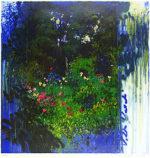 トレンツ・リャド「ヴィラ・ヴェルデ」版画71×71cm