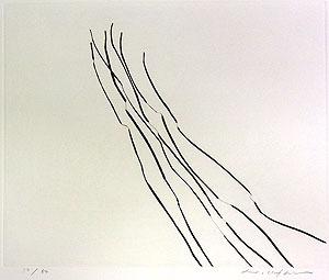 李禹煥「FROM LINE Pl.6」銅版画