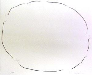 李禹煥「FROM LINE Pl.11」銅版画