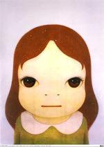 奈良美智「eyes open」オフセット72×52cm