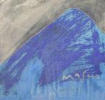 池田満寿夫「富士百景」ブロンズ29×29cm