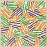ジャスパー・ジョーンズ「Untitled」版画24×23.8cm