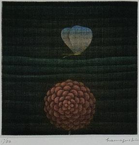 浜口陽三「蝶」銅版画1967年