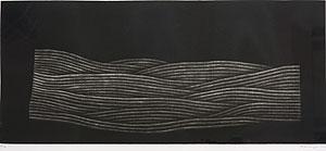 浜口陽三「野」銅版画