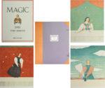 有元利夫「MAGIC」石版画集 4点セット