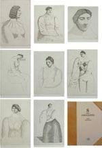 有元利夫「8pieces d'ARLEQUINES」銅版画集8点 1983年