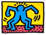 キース・ヘリング「Pop Shop II」版画27.3×34cm