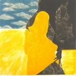 池田満寿夫「九月B」銅版画41×41cm