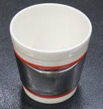 桑田卓郎「湯呑-中(メタリック)」陶器H8.5×φ8.5cm