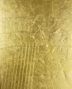 関根伸夫「星座」位相絵画66×53.5cm