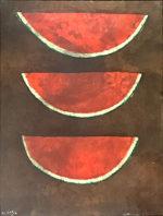 ルフィーノ・タマヨ「スイカ:sandias」版画76×56cm