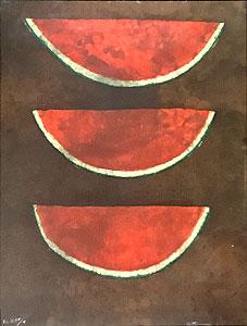 ルフィーノ・タマヨ「スイカ-sandias」版画