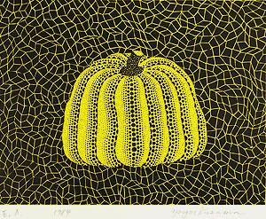草間彌生「南瓜」版画1984年