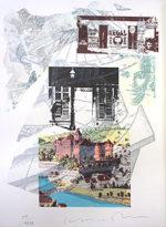 木村光佑「RELATION-H」版画19.5×15.2cm