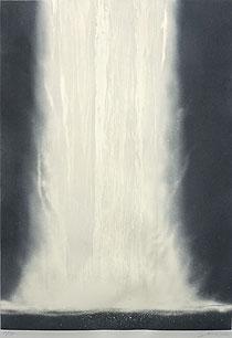 千住博「ウォーターフォールオンプリント#3」版画 1995年