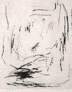 李禹煥「港より3」銅版画 1989年