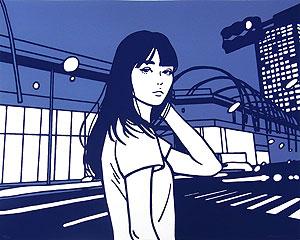 KYNE(キネ)「Untitled(KYNE TOKYO 2)」版画 2020年