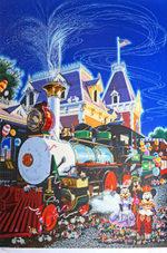 ヒロ・ヤマガタ「メインストリート・ステーション」版画 1995年