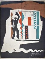 ル・コルビュジエ「モデュロール」版画 1981年