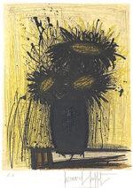 ベルナール・ビュッフェ「ひまわり:植物図集」版画 1966年