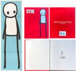 STIK(スティック)「Penguin Books」ドローイング&オフセット 2016年