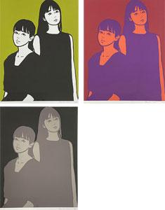 KYNE(キネ)「Untitled:D,E,F」版画 2020年