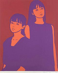 KYNE(キネ)「Untitled:E」版画 2020年
