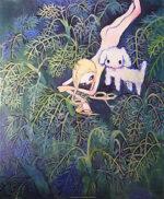 タカノ綾「トルコの草原」オフセットポスター 2005年