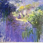 トレンツ・リャド「カネットの階段」版画71×71cm