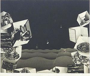 中林忠良「囚われる風景 IV」銅版画 1973年