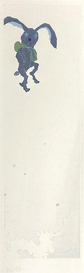 ミヤケマイ「夏渉る LEAP OUT-春夏秋冬より-」銅版画 2010年