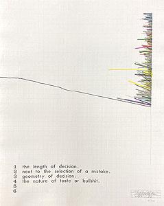 荒川修作「博物誌:Natural History」版画 1969-72年