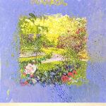 トレンツ・リャド「アルハンブラの夕暮れ」版画 1995年