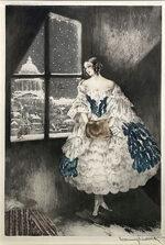 ルイ・イカール「ミミ:Mimi」銅版画 1927年