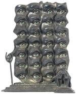 サルバドール・ダリ「シュールレアリスムの目」彫刻 1980年