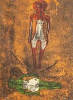 ルフィーノ・タマヨ「二人の人物」版画 1973年