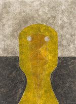 ルフィーノ・タマヨ「黄土色の頭」銅版画 1984年